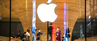Apple-Store in Bangkok: Der Software-Hersteller hat einen Aktien-Split angekündigt.