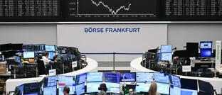 Die Börse in Frankfurt, Heimat des Dax: Der deutsche Leitindex ist ein beliebtes Ziel der ETF-Anleger.