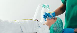 Beatmungsmaske des dänischen Medizintechnik-Unternehmens Ambu. Die Aktie gehört aktuell zu den Top-Ten-Werten des Health Innovation Fund.