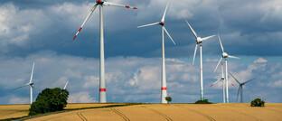 Windpark in Nordhessen. In Projekte wie diese investieren Kunden der Pangaea Life-Police, die beim IVFP-Nachhaltigkeits-Rating außen vor blieb.