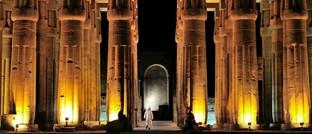 Säulen einer ägyptischen Tempelanlage: Die geplante Online-Rentenübersicht soll für mehr Ducrchblick bei den drei Säulen der Altersvorsorge sorgen.
