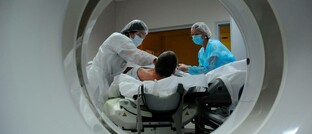 Patient im MRT