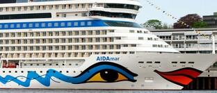 Kreuzfahrtschiff Aidamar in Warnemünde: Die Aida-Schiffe betreibt das Unternehmen Carnival Corporation, das die Rating-Agentur Standard & Poor's jüngst in den Hochzinsbereich herabstufte.