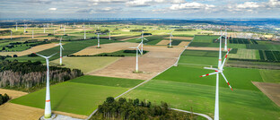Windpark im sauerländischen Brilon, Nordrhein-Westfalen: Erneuerbare Energien sind ein Schlüsselsektor des neuen Fondsprodukts von Oddo BHF Private Equity.