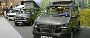Ausgebaute VW-Busse auf der Messe für Reisemobile und Caravans in Düsseldorf: Viele Dax-Unternehmen, darunter auch die Autohersteller, arbeiten in gesättigten Märkten.
