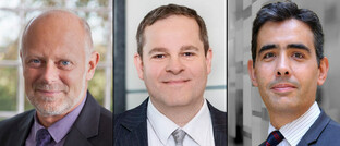 Fondsmanager mit Bezug zu Gold (von links): Martin Siegel, Stabilitas; Nico Baumbach, Hansainvest; Benjamin Louvet, Ofi Asset Management