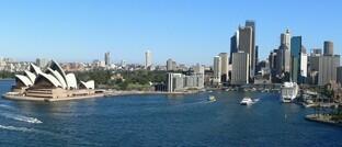 Blick auf Sydney, Australien: First State Investments hat hier seinen Sitz.
