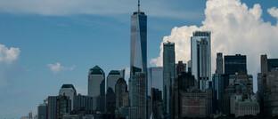Skyline von Manhattan: In der Corona-Krise sinken die Mieten.