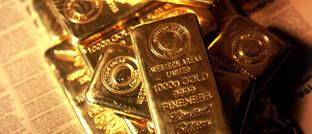 Goldbarren: ETCs wie Euwax Gold II sind bei Anlegern gefragt.