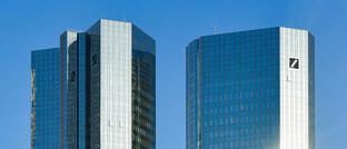 Bürotürme der Deutschen Bank in Frankfurt