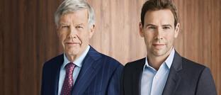 DJE-Vorstände Jens (li.) und Jan Ehrhardt: Der DJE-Robo Solidvest bietet neuerdings eine interessante Zusatzfunktion an.