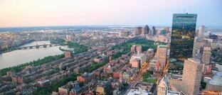 Skyline von Boston: Die Hauptstadt des US-Bundesstaates Massachusetts ist auf dem Weg zur intelligenten Stadt.