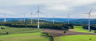 Windpark in Hessen