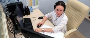 Arztgespräch und Diagnose mittels neuer Technologien