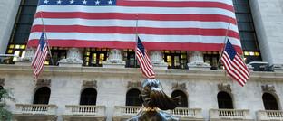 Börse in New York: Synthetische ETFs machten sich in den vergangenen Monaten besser als physische ETFs.