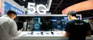 Chinesische Firma wirbt mit 5G-Netz: Wer auf dem Gebiet führend ist, setzt internationale Standards.
