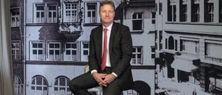 Vorstandsvorsitzender von Hauck & Aufhäuser Privatbankiers: Michael Bentlage sieht großes Interesse bei Kunden an Krypto-Anlagen.