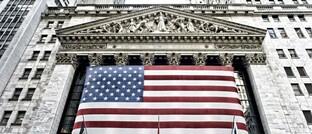 Wall Street in New York: Aktuell spielt Inflation an den Märkten keine Rolle.