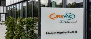 Sitz von Curevac in Tübingen
