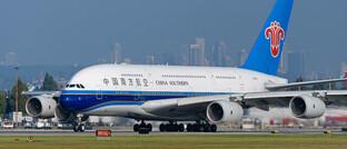 A380 von Airbus: Das Unternehmen ist derzeit das Schwergewicht im M-Dax.