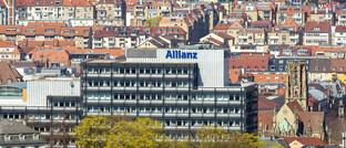 Sitz der Allianz Lebensversicherung in Stuttgart