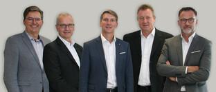 Andreas Kitta, H. Christian Störkel, Andreas Grünewald, Uwe Eilers und Thomas Buckard