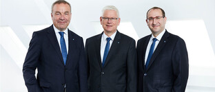 Ralf Berndt, Frank Karsten und Guido Bader