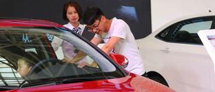 Automesse in Peking