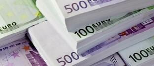 Euro-Banknoten mit höherem Nennwert