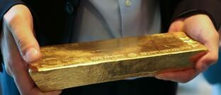 Goldbarren im Wert von 650.000 Euro