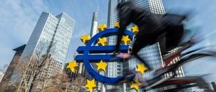 Euro-Symbol in Frankfurt