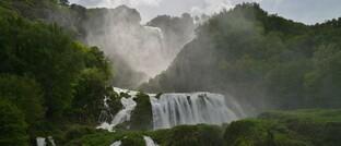 Der Marmorfall in der italienischen Region Umbrien