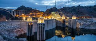Megakraftwerk Hoover-Damm in Nevada