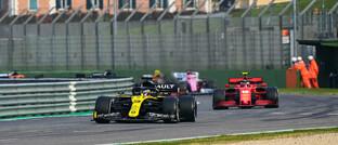 Rennfahrer Daniel Ricciardo im Renault