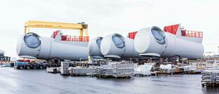 Gondeln für Windkraftanlagen eines deutschen Herstellers