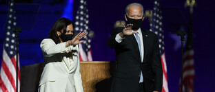 Demokraten-Duo Kamala Harris und Joe Biden