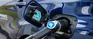 Tanken von Wasserstoff