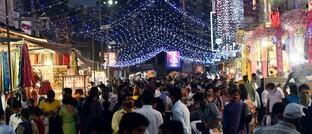 Lajpat-Nagar-Markt in Delhi