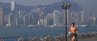 Jogger in Hongkong