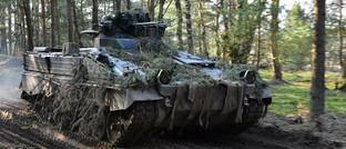 Schützenpanzer, Modell Marder, hergestellt von Rheinmetall Landsysteme