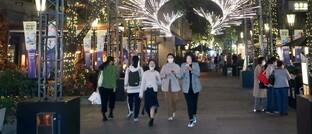 Lichterfest in China
