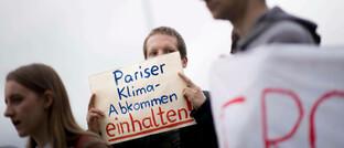 Fridays-for-Future-Demonstranten in Berlin (Archivbild)