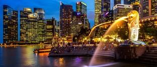 Merlion Park in Singapur