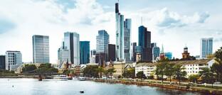Das Frankfurter Bankenviertel