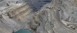 Kupfermine im Norden Schwedens