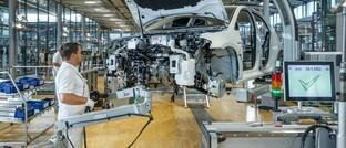 E-Auto-Produktion bei VW in Sachsen