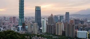 Taipeh, die Hauptstadt von Taiwan