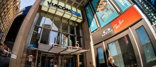 Hauptsitz von ViacomCBS am New Yorker Times Square