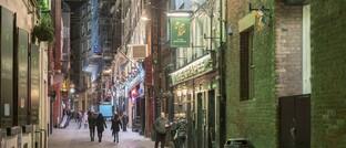 Kneipenstraße in Liverpool