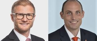 Eric Sauerborn und Dirk Hendrik Lehner (49, r.)